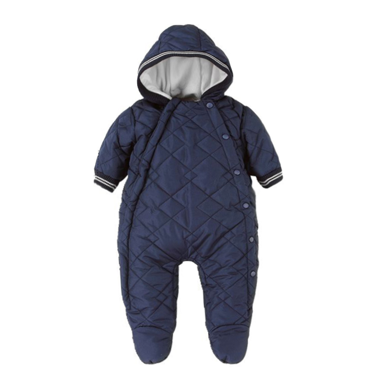 ФОТО winter baby clothes New Newborn One-piece Baby Clothes Boy Clothes Romper Winter Outfits Beige free shipping
