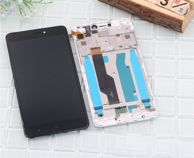 HTB1h RpnmtYBeNjSspkq6zU8VXaF Tested LCD Display +Frame For Xiaomi Redmi Note 4 Global Version Snapdragon 625 Touch Screen LCD Digitizer Redmi Note 4X