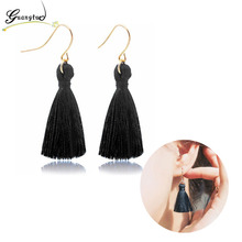 Bohemian Ethnic Long Tassel Drop Earrings For Women Fashion Jewelry Oorbellen Brincos Dangle Earring Bijoux Gift Pendientes