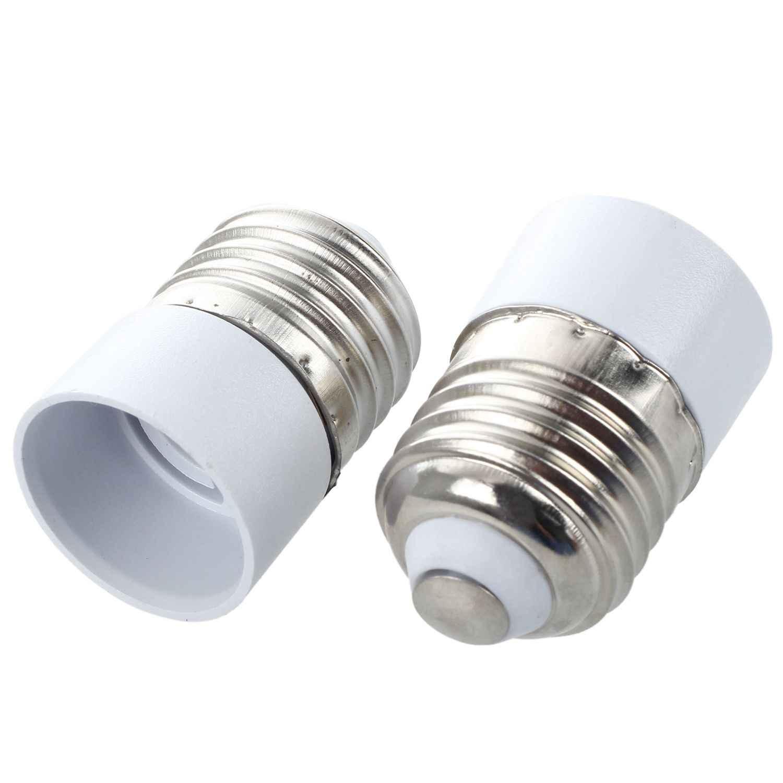 10 E27 Male Plug to E14 Female Socket Base LED Light Lamp Bulb Adapter Converter Drop Shipping