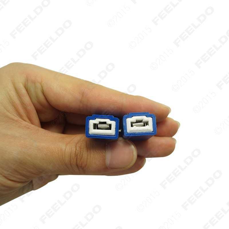 FEELDO 30 шт. H1/H3 Автомобильный светодиодный противотуманный свет DRL дальнего света 50 W 6ohm нагрузки проводка резистора CAN-шина с компенсатором помех ошибок декодеры проводки