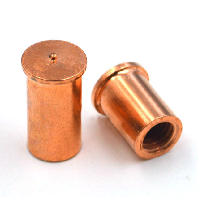 Copper Nuts And Bolts >> M5 M6 Spot Welding Nuts Solder Joint Stud Brass Nuts Copper Plated