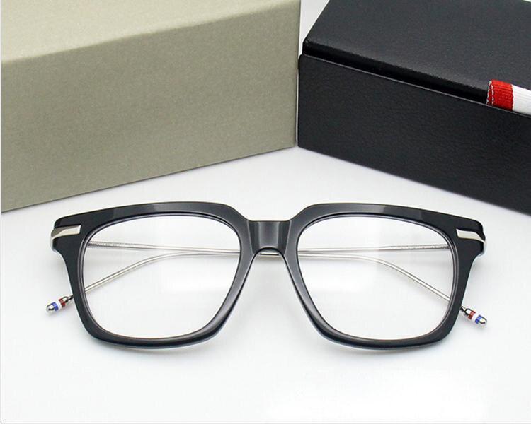 NewYork Óculos de Marca prescrição de Óculos Armação de Metal leg ... 5ce20254ac
