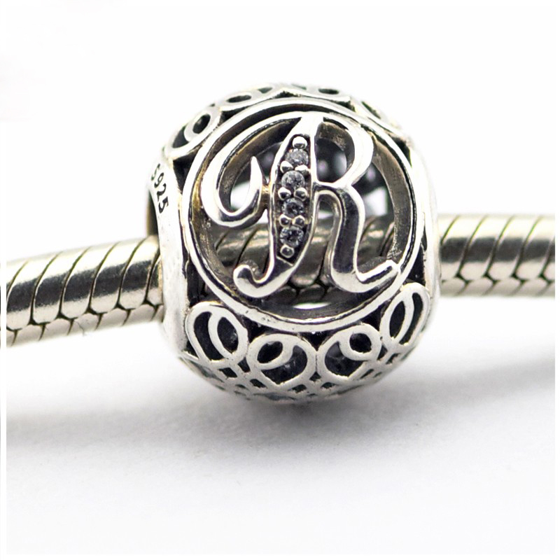 Genuino 925 plata pulsera encanto colgante de Lujo Cuello-Angel