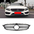 CLA450 ABS Car Styling Auto Car Front Mesh Grill grille For Benz CLA CLA450 2015UP
