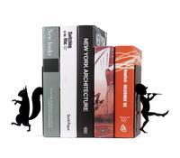 Bookends criativas suporte simples retro dos desenhos animados placa de livro Livro Estudante utilitário de arquivo estante de mesa TV decoração de casa