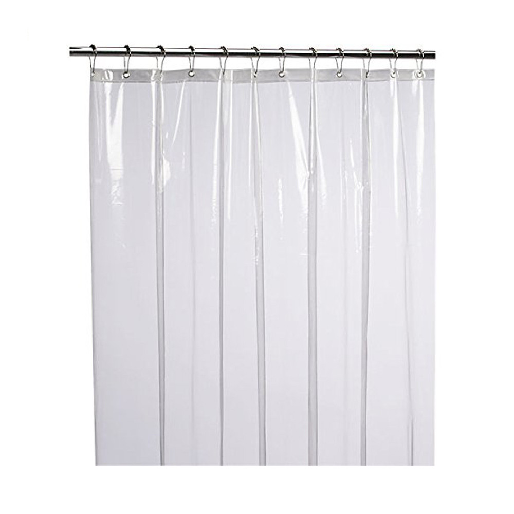 Mildew Resistant Anti-Bacterial Shower Curtain Liner Eco-Friendly Decoration Shower Curtain Waterproof Home Bathroom Curtains