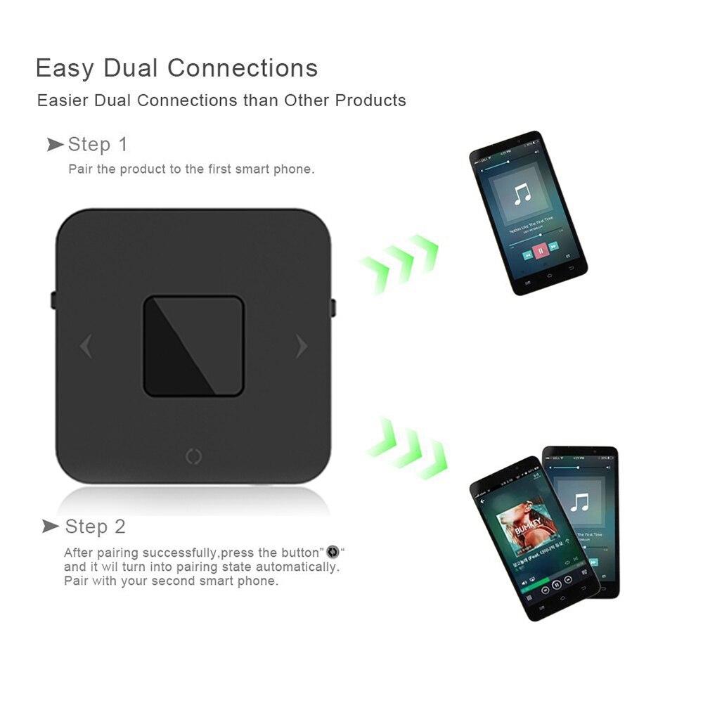Portable Bluetooth 5 0 CSR8670 Aptx Low Latency 3 5mm RCA SPDIF Optical  Transmitter Receiver Wireless Audio Music TV Adapter