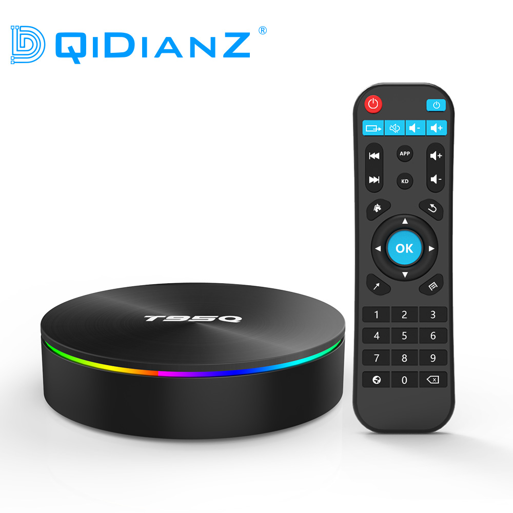 DQiDianZ T95Q Android 8 1 Smart TV BOX S905X2 Quad Core support 2 4G 5 8G