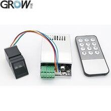Crescer k216 + r307 reconhecimento de impressão digital sistema controle acesso + r307 sensor impressão digital óptico