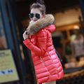 2017 Womens doudoune femme long sleeve parkas Coat Autumn and wtinter warm Jackets coat Ladies plus size Duck down coats