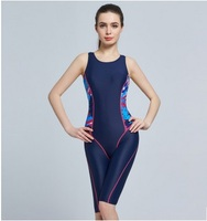 Women Sexy Polyester Sport Quick Dry Swimwear Girls Waterproof One Piece Swimsuit Competition Swimwear Athletic Bathing