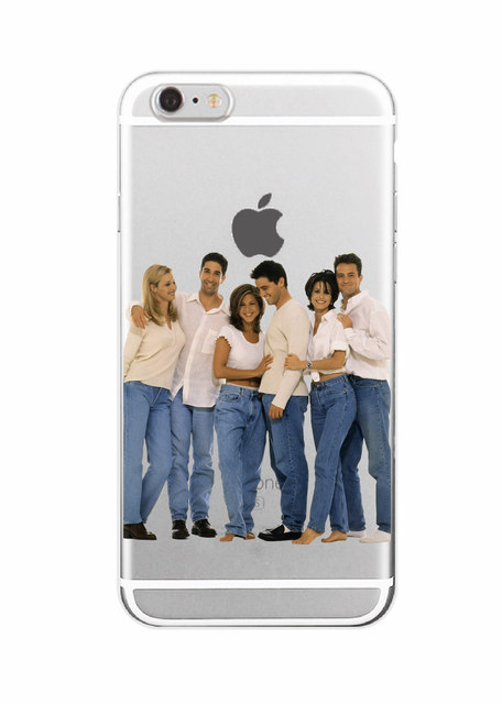 Friends TV Show Soft Phone Case Cover For iPhone 7Plus 7 6 6S 6Plus 5 5S SE 5C 4 4S