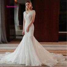 LEIYINXIANG Elegant Bride Dress 2019 Wedding Dress V-Neck