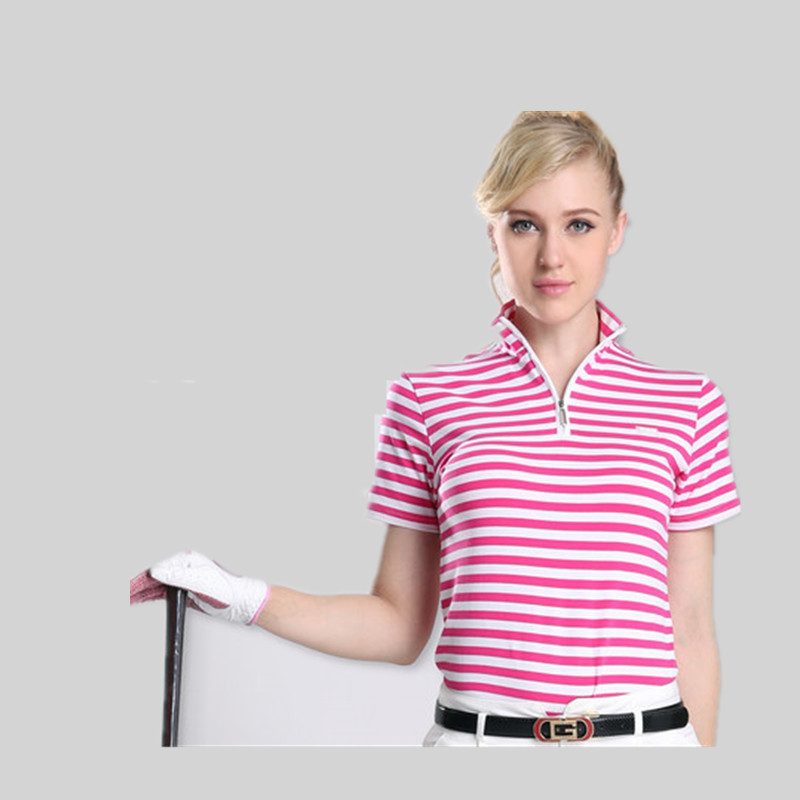 Camisetas Mujer font b Polo b font Golf Shirts Pgm Clothing Ladies Ball Gown British Style
