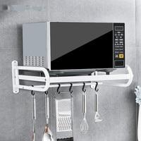 A1 Kitchen shelf condiment pendant microwave oven oven rack spice rack LU50312
