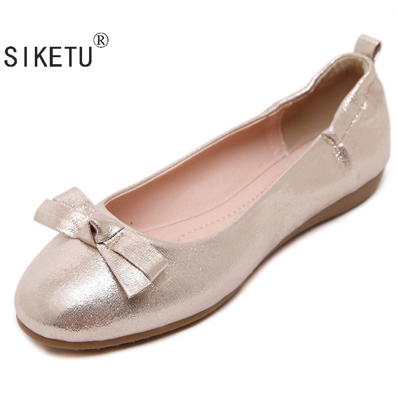 SIKETU Spring Autumn Flat Shoes Women Casual Shoes Flats Buckle Loafers Slip On Soft Women's Flat Shoes Lady Driving Shoes SI667 excellence color 16 closed hole purple flute e case c key