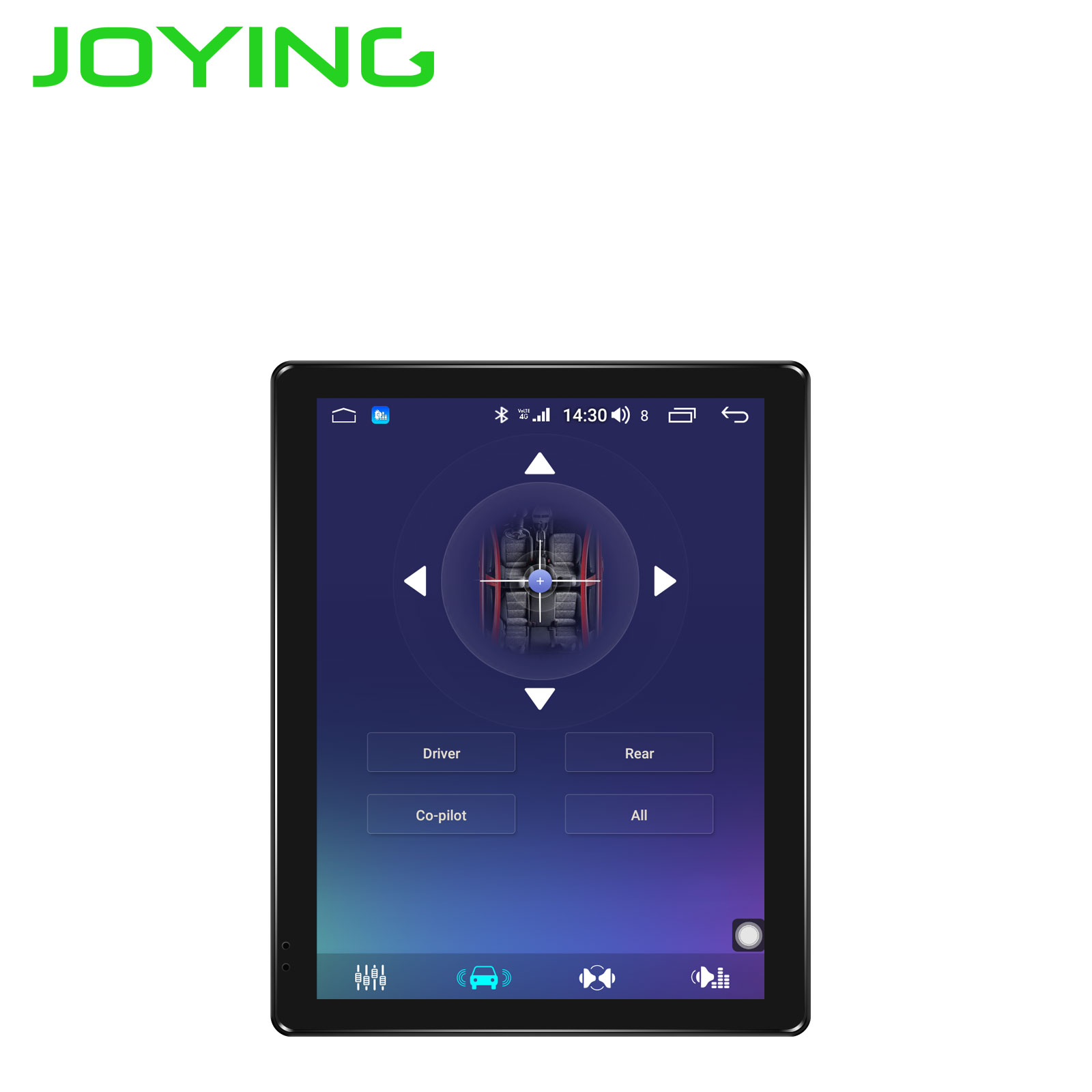 Image 5 - JOYING 9.7 inch IPS Screen 1024*768 one din Android 8.1 Car radio 4GB+64GB support 3G/4G DSP SWC Fast Boot GPS autoradio GPS mapCar Multimedia Player   -