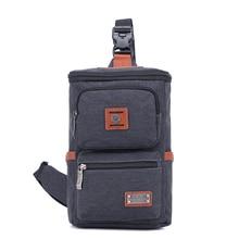 Крест быка Мужская Холщовая Сумка через плечо мужская нагрудная сумка через плечо стильная сумка SL8009