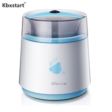 Kbxstart 800ml Automatic Ice Cream Maker Double Insulation Frozen Barrel Ice Cream Machine For Kids DIY Fruit Ice Cream 220V все цены