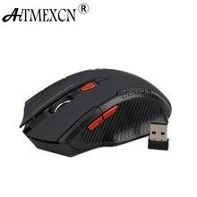 Aitmexcn оптическая 2,4 ГГц беспроводная мышь компьютерная игровая лазерная мышь sem fio 2400 dpi Professional Gamer Mause мыши для ноутбука ПК