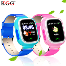 Q90 niño GPS reloj inteligente bebé reloj Anti-perdido con pantalla táctil Wifi  SOS llame 964c5e2ce6e3