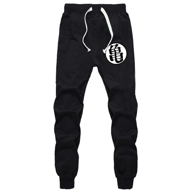 Winter sweatpants for men hip hop Funny Print Dragon Ball Goku pants jogger Autumn trous ...