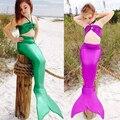 New Girl mermaid tail natación niños colas sirena traje infantil sirenita ariel la sirenita traje traje de baño Caliente