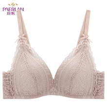 PAERLAN Sexy Floral Lace Bra Female Wireless Fashion 4 Color Underwear Comfortable
