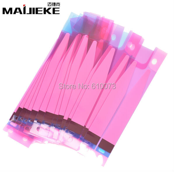 10pcs MAIJIEKE Battery Adhesive Sticker For iPhone 11 pro max X 5s 6 6s 7 8 plus Battery Glue Tape Strip Tab Replacement Part