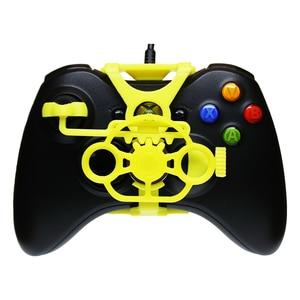 Image 5 - Xbox 360 משחקי מירוץ גלגל, 3D מודפס מיני הגה להוסיף על עבור Xbox 360 בקר