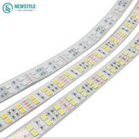 זוגי שורת LED רצועת 5050 שפופרת סיליקון עמיד למים DC12V גמיש אור LED לבן חם לבן RGB 5 מטר\חבילה קישוט הבית
