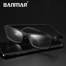 BANMAR ULTEM(PEI) Men Ultralight Clear Lens Glasses Prescription Optical Myopia Eyeglasses Frame Women Eyewear 5503