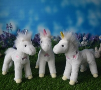 Plush Toy Cute White Unicorn Doll Kids Toys For Girls Birthday Gifts Good Quality