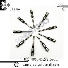 Прямые хвостовиком пробивая D2.5, D4.5, D5.0, D5.5, D6.0, D7.0, D8, D9, D10mm бумага/полое сверло заточной станок