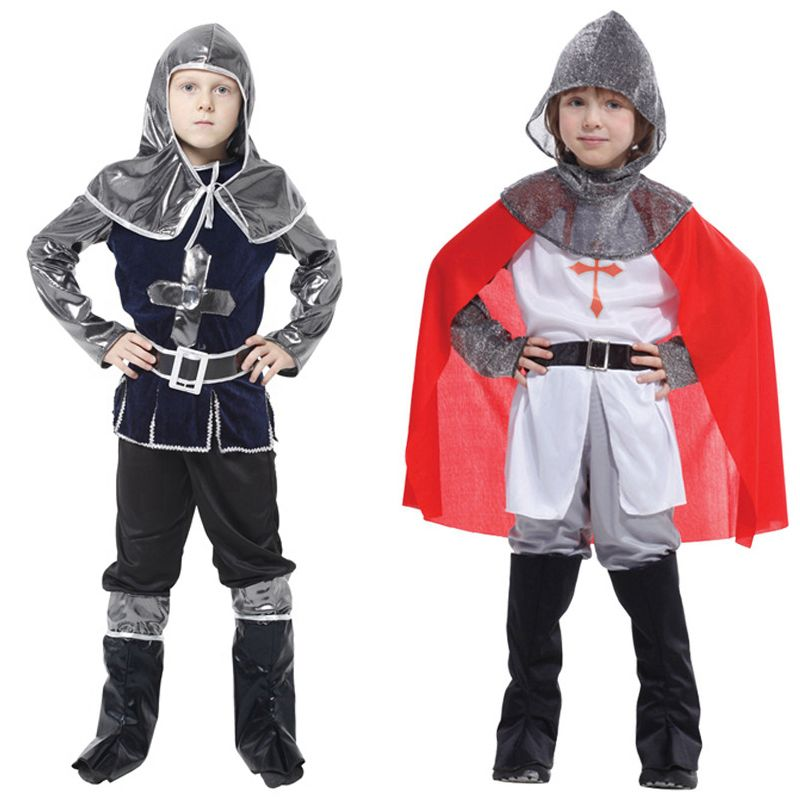 mxl crusade knight roman warrior hunter cosplay medieval halloween carnival party boy kid child fancy game stage costume