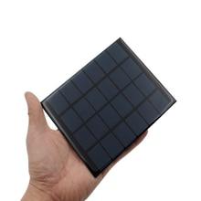 1pc x 6V 2W Solar Panel Portable Mini Sunpower DIY Module Panel System For Solar Lamp Battery Toys Phone Charger Solar Cells