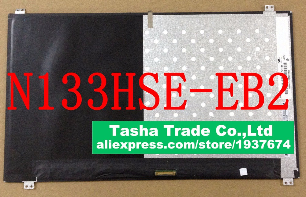 For ChiMei Innolux N133HSE-EB2 Rev.B1 N133HSE EB2 FHD 1920X1080 EDP Laptop LCD LED Screen Display 17 3 lcd screen panel 5d10f76132 for z70 80 1920 1080 edp laptop monitor display replacement ltn173hl01 free shipping