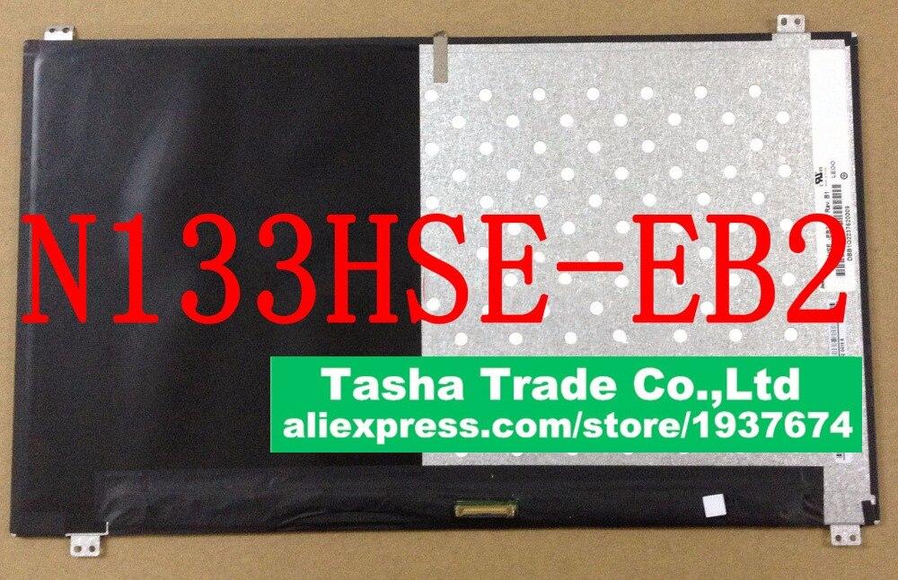 все цены на For ChiMei Innolux N133HSE-EB2 Rev.B1 N133HSE EB2 FHD 1920X1080 EDP Laptop LCD LED Screen Display онлайн