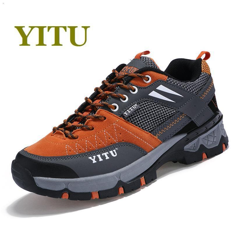 Spring autumn 2017 outdoor hiking shoes Unisex climbing sneakers breathable women male trekking shoes waterproof and non-slip new 2017 brand men spring autumn outdoor climbing shoes couple climbing hiking lace up rubber breathable shoes 8037