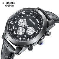 Top Marca de Luxo Mens Relógios do Relógio Dos Esportes Da Forma Dos Homens de Negócios Casuais Relógios Em Aço Inoxidável À Prova D' Água Relogio masculino