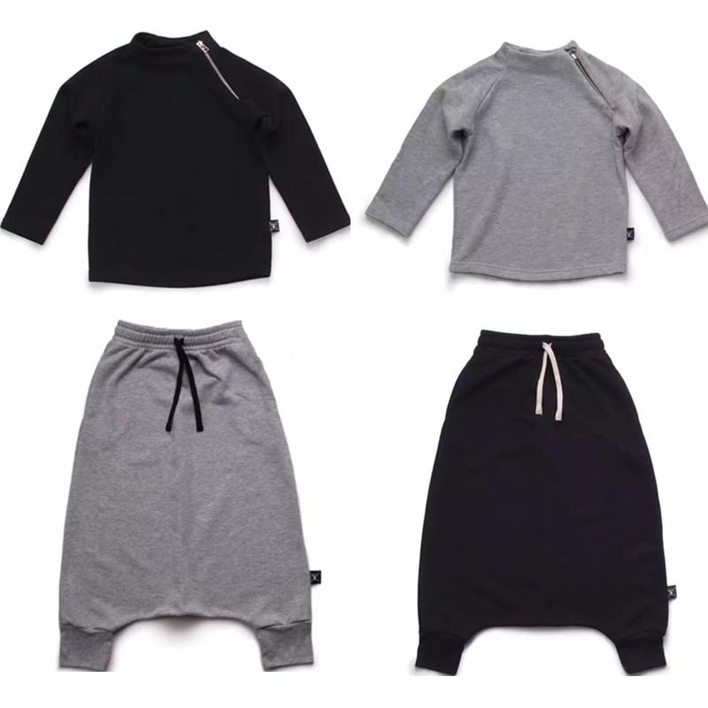 ᗑ2018 primavera otoño niño harem pantalones cortos niños Bebé Ropa ...
