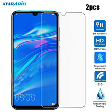 2pcs Tempered Glass Huawei Y7 2019 Screen Protector Prime Y7Prime Y72019 Y 7 Film