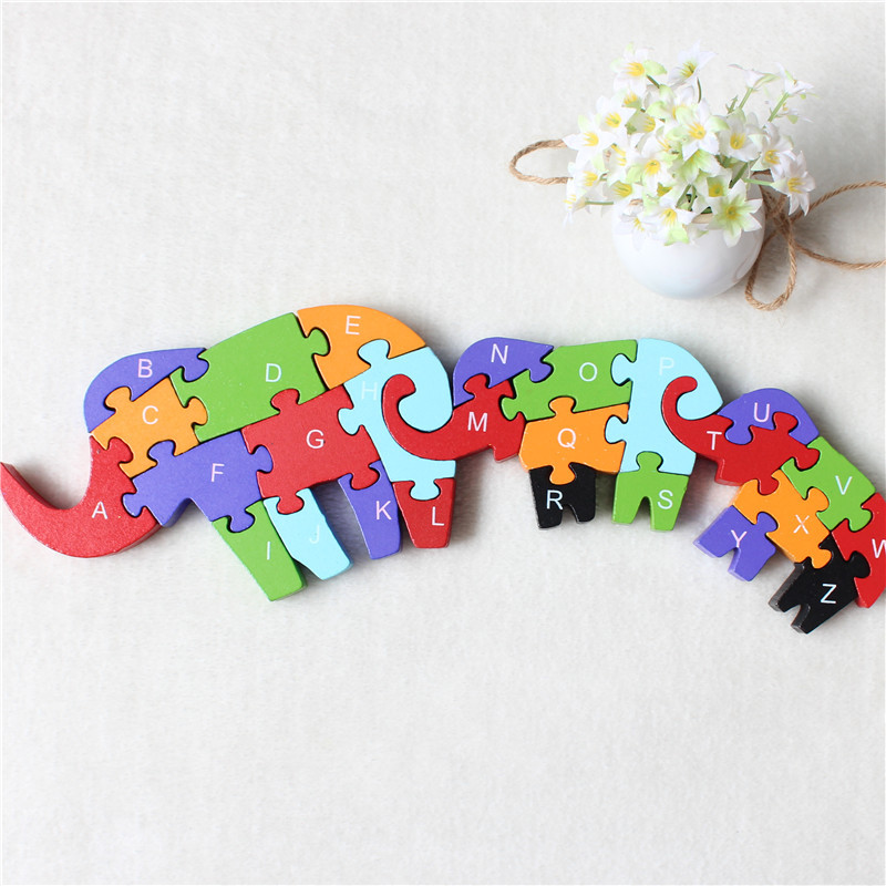 JP053 Double Sides Children Wooden Toys Alphabet Number Building Jigsaw Puzzle Mother & Son Digital Puzlzle Game EducationalJP053 Double Sides Children Wooden Toys Alphabet Number Building Jigsaw Puzzle Mother & Son Digital Puzlzle Game Educational
