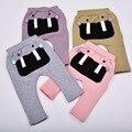 Crianças roupas meninos meninas calças do bebê calças harem pants algodão coruja