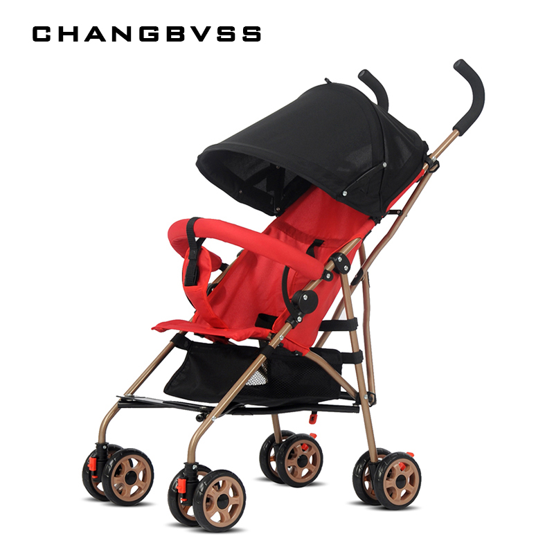 Hot Sale Baby Stroller Pocket Stroller,Urltra-Light Folding Baby Cart Carrinho Baby Pram Travel Stroller Pushchair Take On Plane