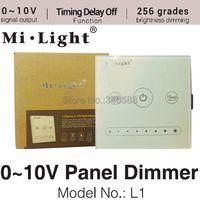 Milight L1 1 Channel 0~10V Panel Dimmer Touch Panel Brightness Adjustable LED Controller for Single Color LED Strip Light