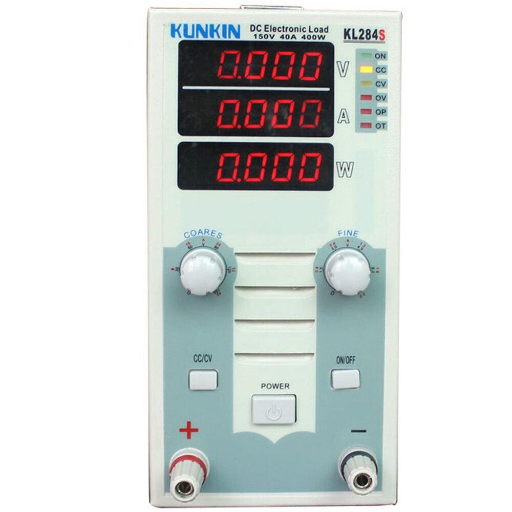 KL283S KL284S 150V Single channel DC Electronic Load LED Voltmeter E Load Battery Tester Simulate Impedance Load Voltimetro