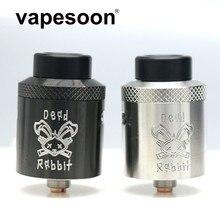 Dead Rabbit BF RDA Atmoizer Tank алюминий поддерживает одну/двойную катушку Vape подходит для elctronic сигаретный бокс мод vape