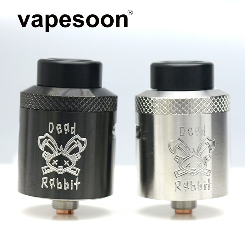 Dead Rabbit BF RDA Atmoizer Tank Aluminum Supports Single/Dual Coil Vape Fit For Elctronic Cigarette Box Mod Vape